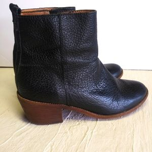 Madewell perrie womens ankle boots
